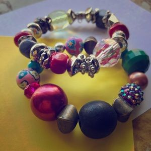 Jewelry - Storybook  bracelet (crystal, beads)